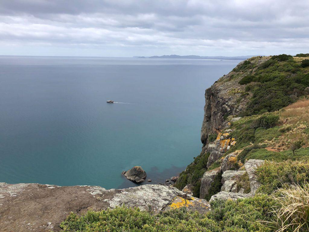 """Ausblick vom """"The Nut"""" in Tasmanien"""