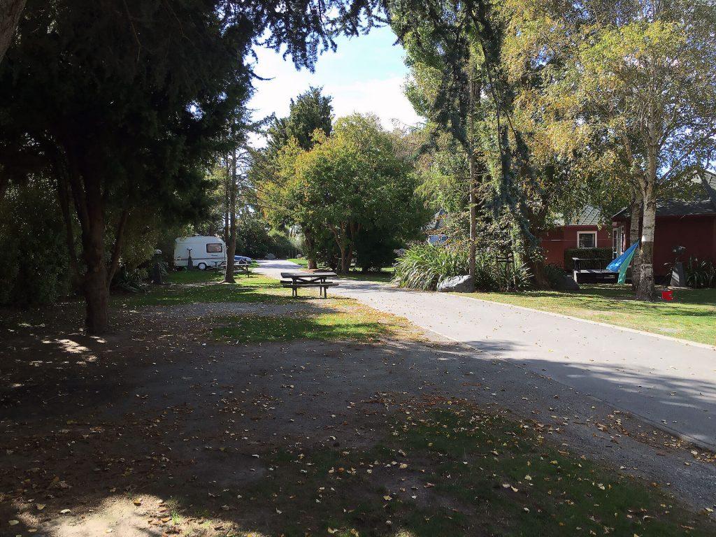 Campingplatz in Christchurch